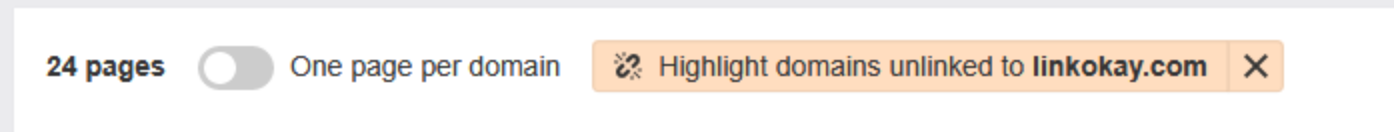 highlight unlinked mentions feature ahrefs