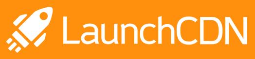LaunchCDN logo