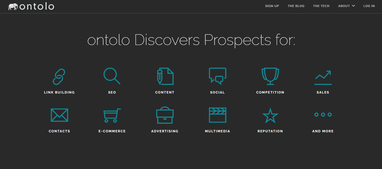 Ontolo Homepage